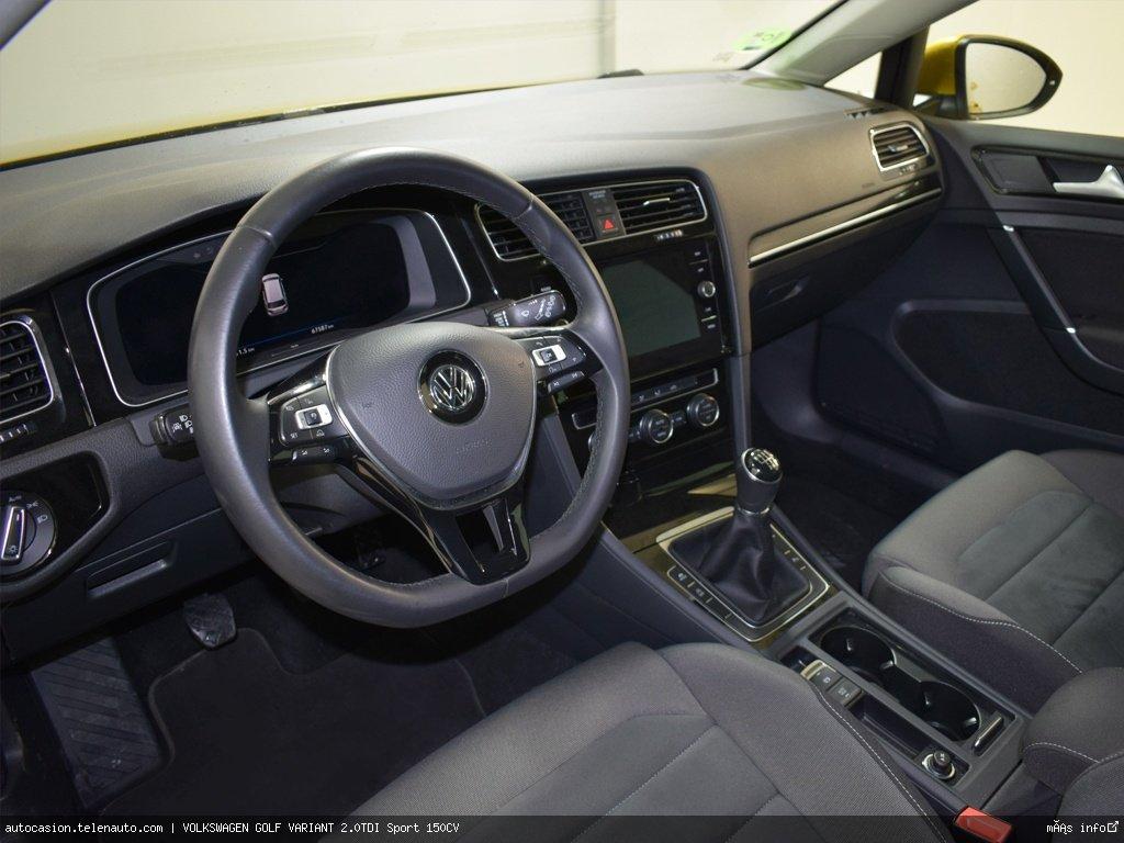 Volkswagen Golf variant 1.6TDI  Advance 115CV Diesel de ocasión 9
