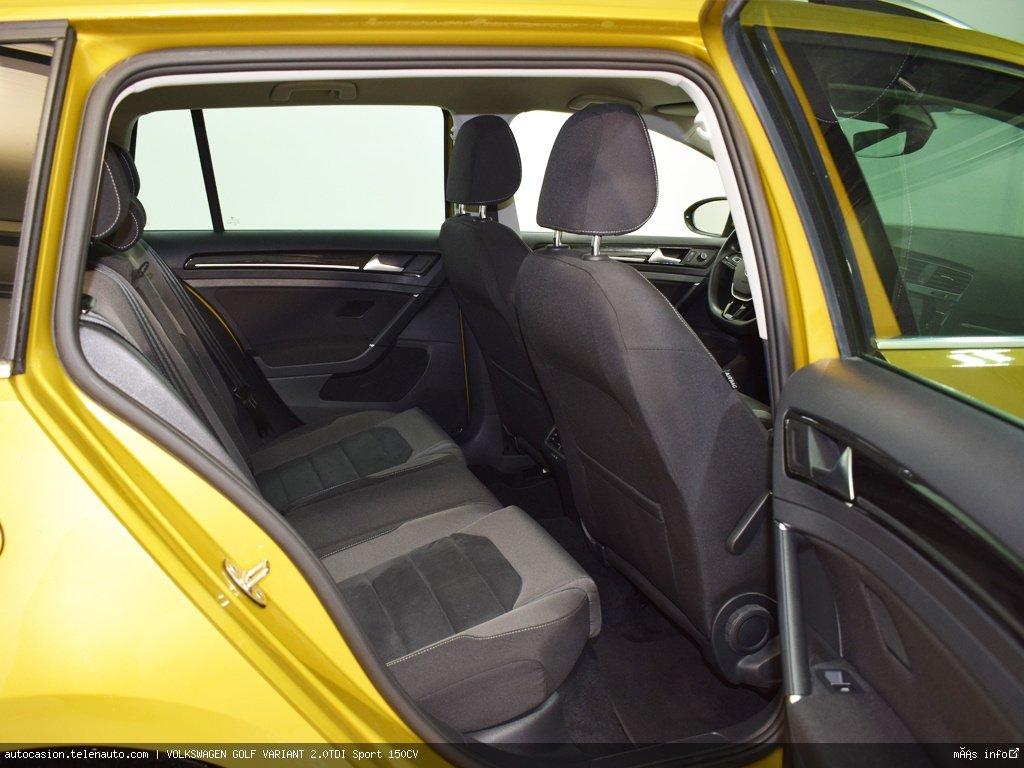 Volkswagen Golf Variant Advance 1.6 TDI 115CV  Diesel de ocasión 10