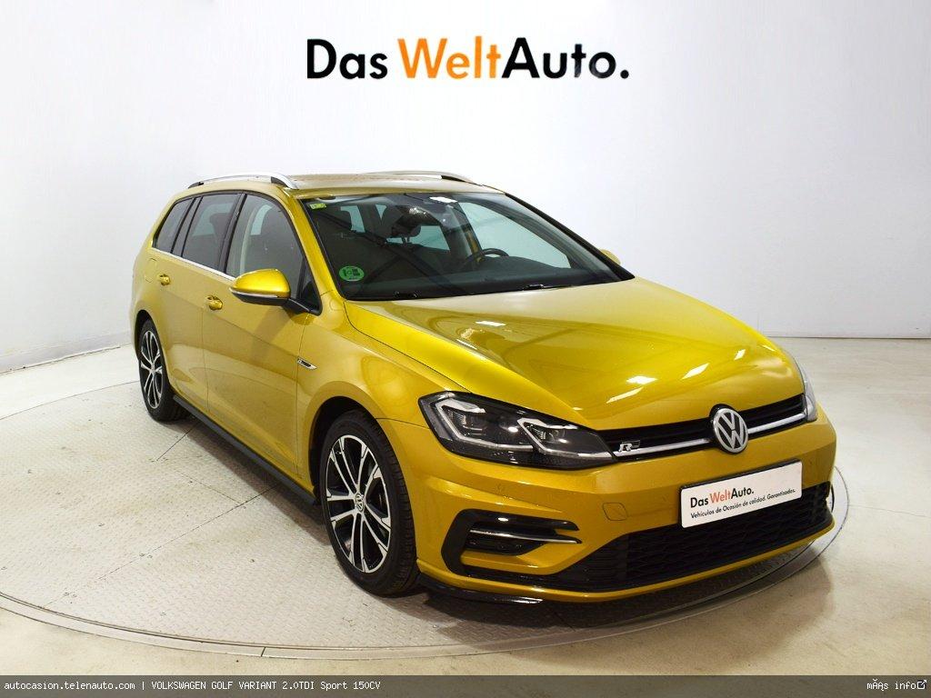Volkswagen Golf variant 1.6TDI  Advance 115CV Diesel de ocasión 1