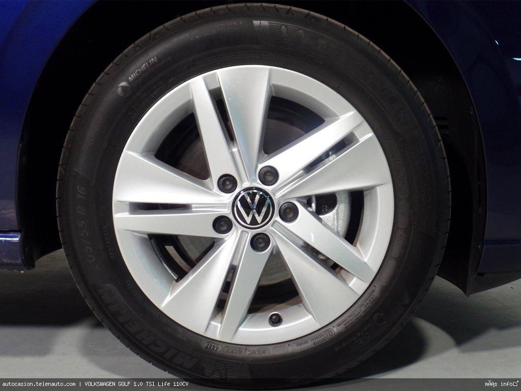 Volkswagen Golf 1.0 TSI Life 110CV Gasolina kilometro 0 de segunda mano 12