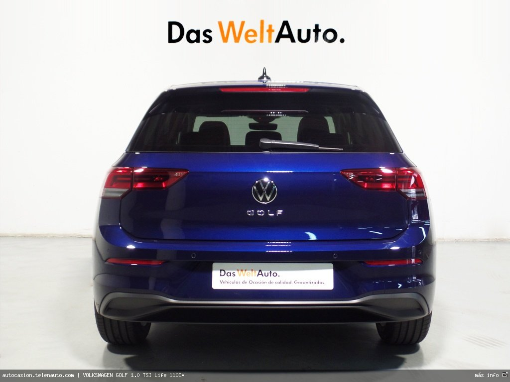 Volkswagen Golf 1.0 TSI Life 110CV Gasolina kilometro 0 de segunda mano 4