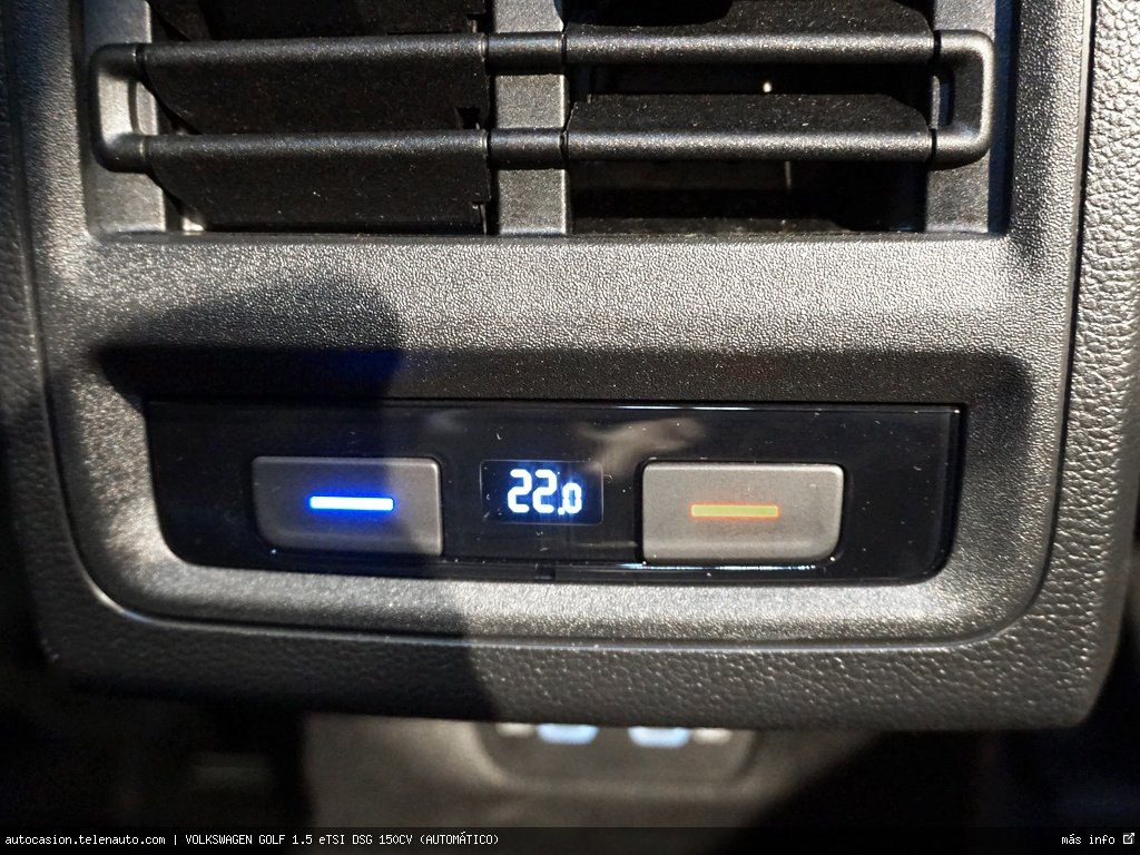 Volkswagen Golf 1.5 eTSI DSG 150CV (AUTOMÁTICO) Hibrido kilometro 0 de segunda mano 13