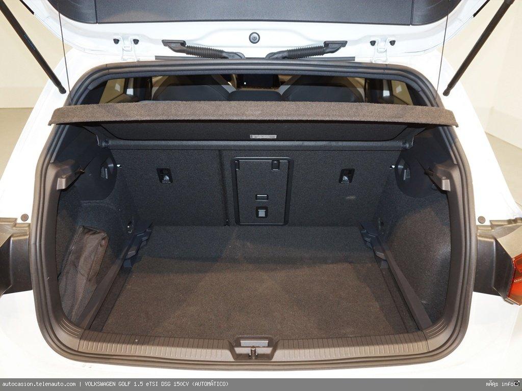 Volkswagen Golf 1.5 eTSI DSG 150CV (AUTOMÁTICO) Hibrido kilometro 0 de segunda mano 14