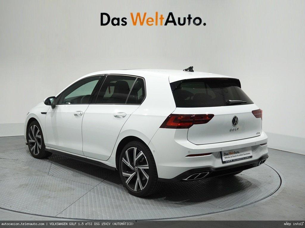 Volkswagen Golf 1.5 eTSI DSG 150CV (AUTOMÁTICO) Hibrido kilometro 0 de segunda mano 3