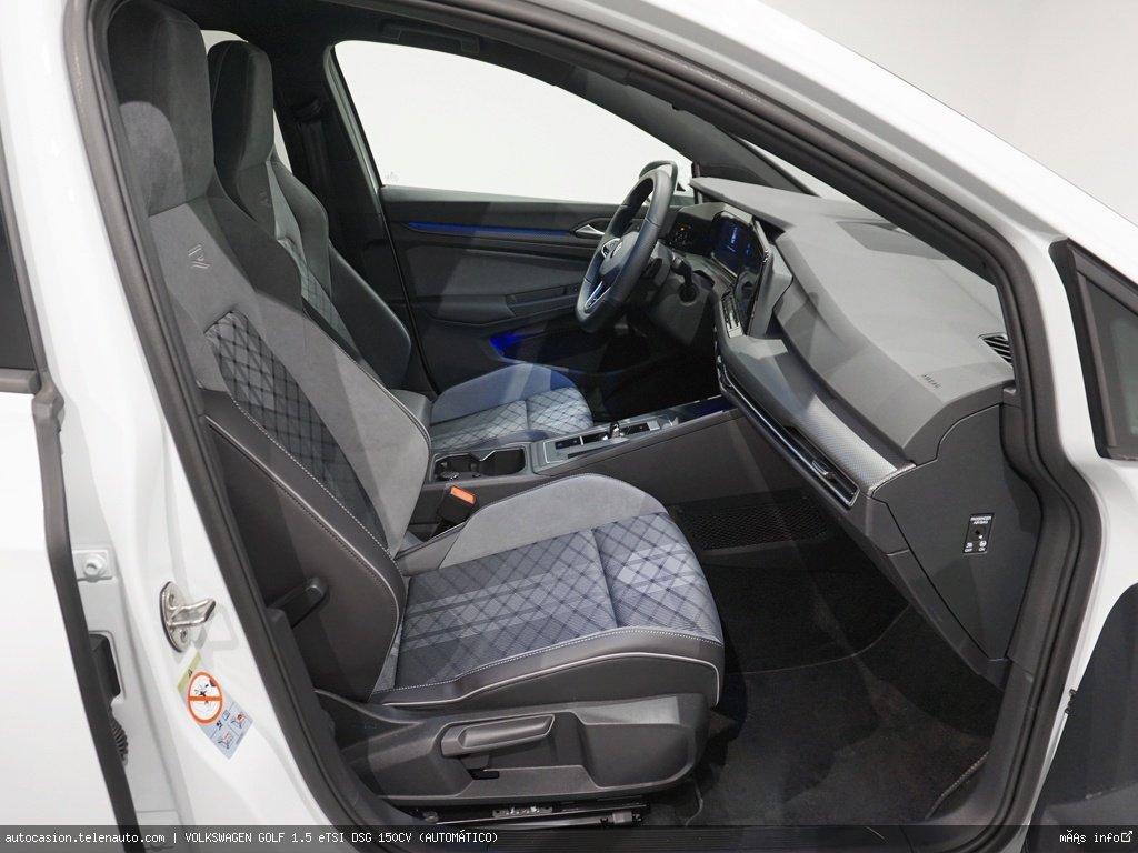 Volkswagen Golf 1.5 eTSI DSG 150CV (AUTOMÁTICO) Hibrido kilometro 0 de segunda mano 8