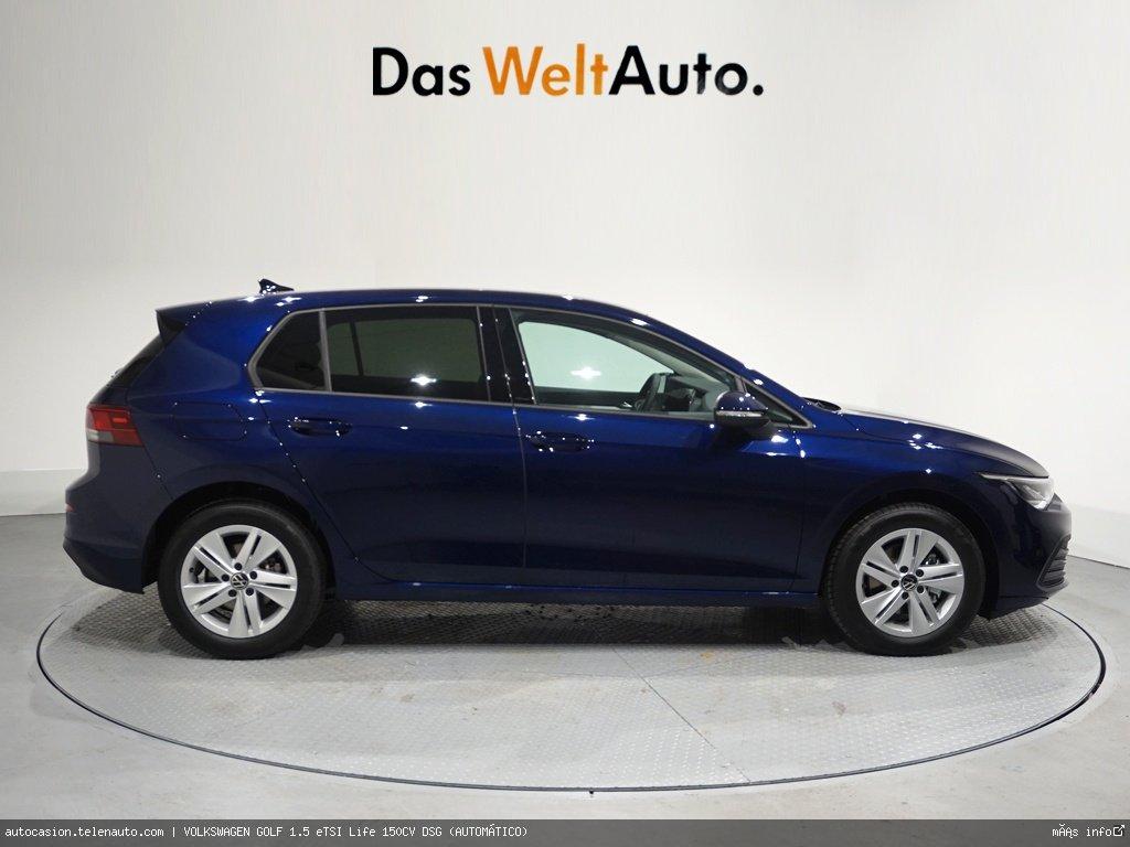 Volkswagen Golf 1.5 eTSI Life 150CV DSG (AUTOMÁTICO) Gasolina kilometro 0 de segunda mano 3