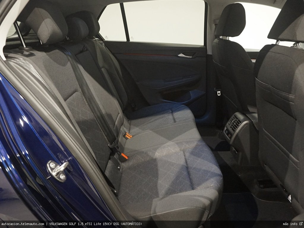 Volkswagen Golf 1.5 eTSI Life 150CV DSG (AUTOMÁTICO) Gasolina kilometro 0 de segunda mano 7