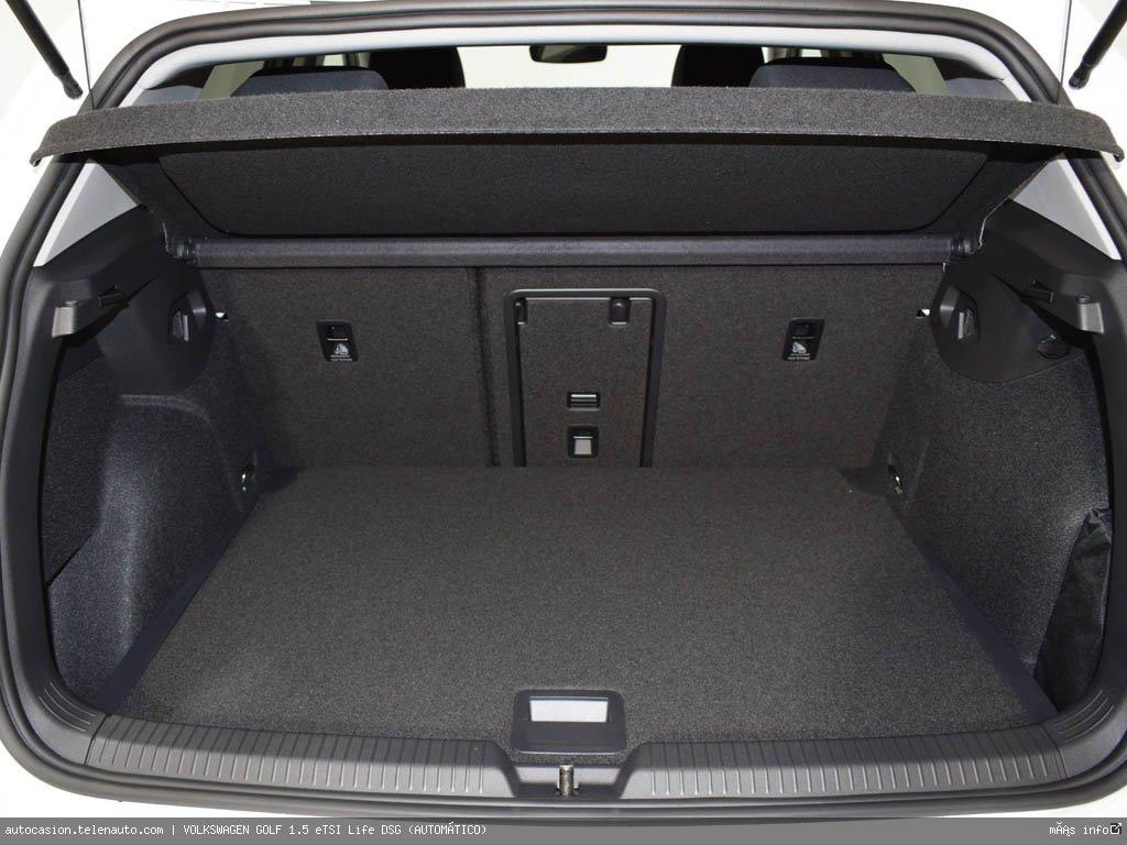 Volkswagen Golf 1.5 eTSI Life DSG (AUTOMÁTICO) Hibrido kilometro 0 de segunda mano 11
