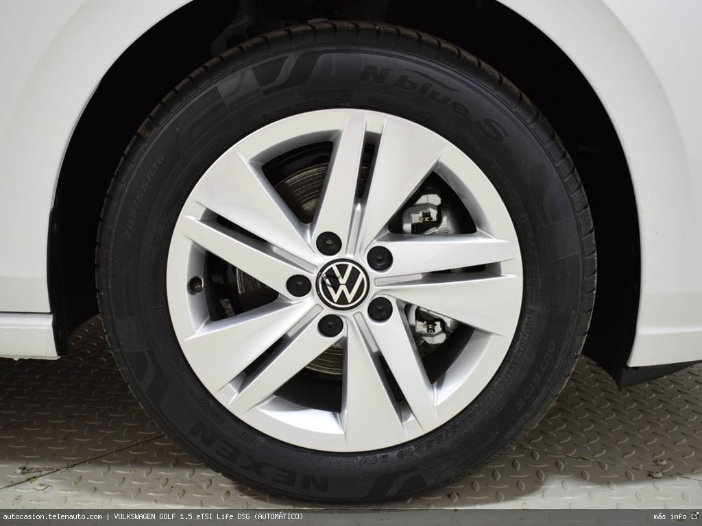 Volkswagen Golf 1.5 eTSI Life DSG (AUTOMÁTICO) Hibrido kilometro 0 de segunda mano 12