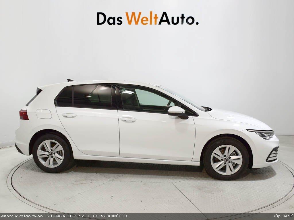 Volkswagen Golf 1.5 eTSI Life DSG (AUTOMÁTICO) Hibrido kilometro 0 de segunda mano 3