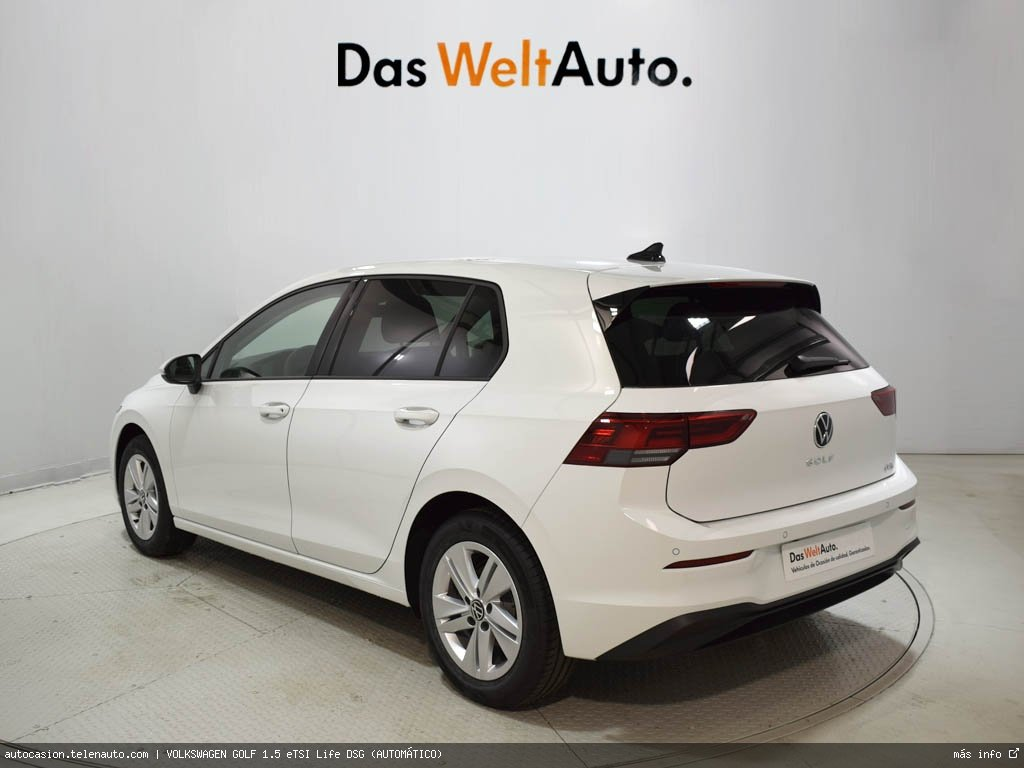 Volkswagen Golf 1.5 eTSI Life DSG (AUTOMÁTICO) Hibrido kilometro 0 de segunda mano 4