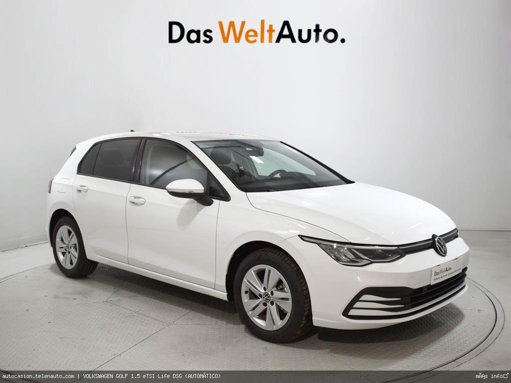 Volkswagen Golf 1.5 eTSI Life DSG (AUTOMÁTICO) Hibrido kilometro 0 de segunda mano 1