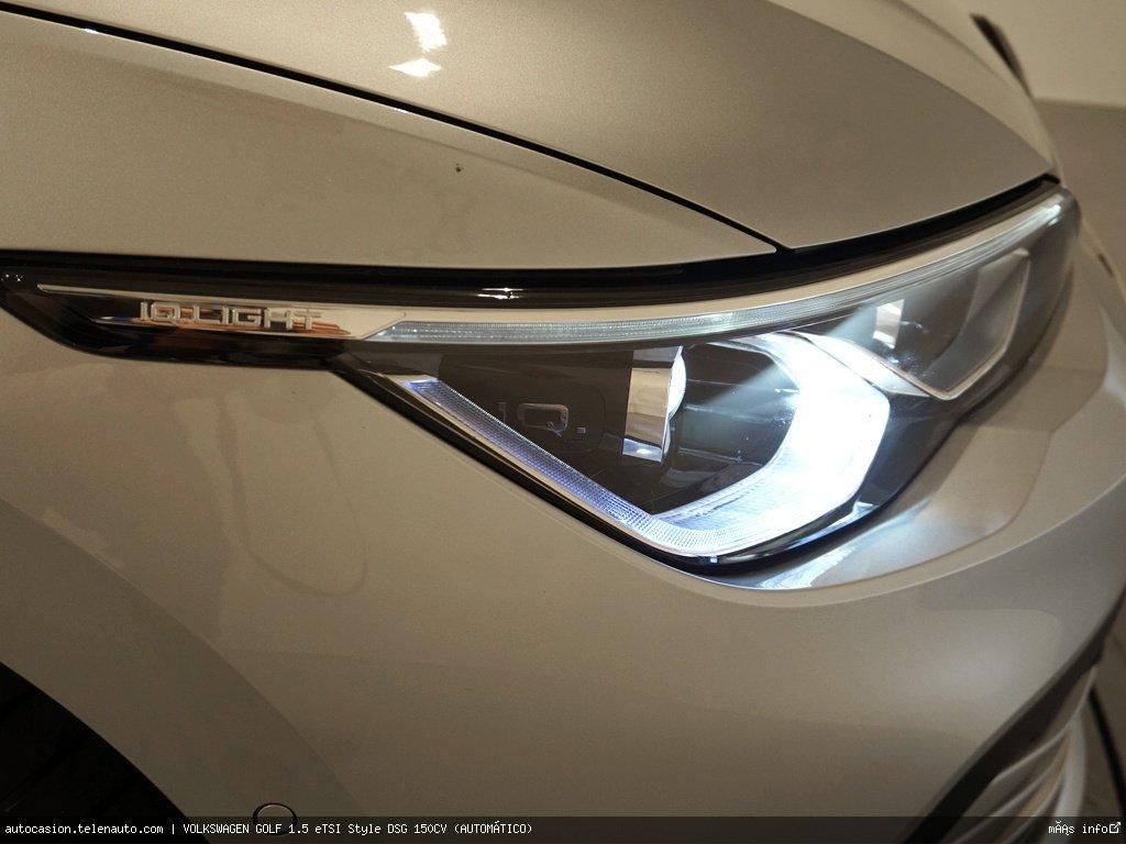Volkswagen Golf 1.5 eTSI Style DSG 150CV (AUTOMÁTICO) Hibrido kilometro 0 de segunda mano 5