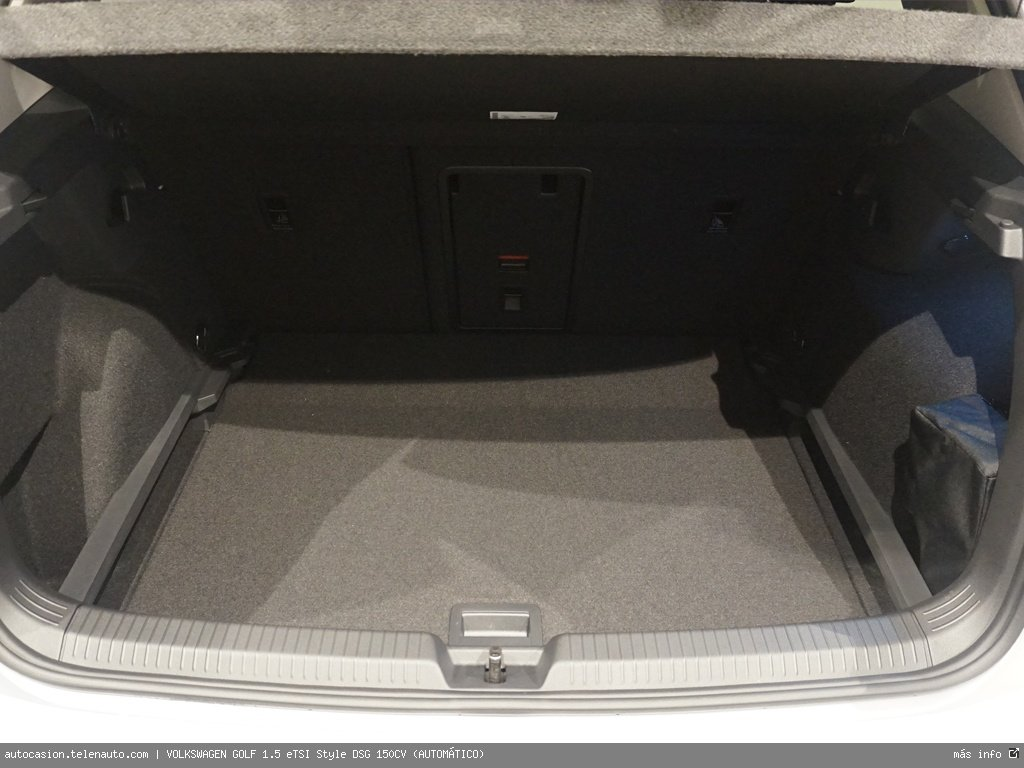 Volkswagen Golf 1.5 eTSI Style DSG 150CV (AUTOMÁTICO) Hibrido kilometro 0 de segunda mano 9