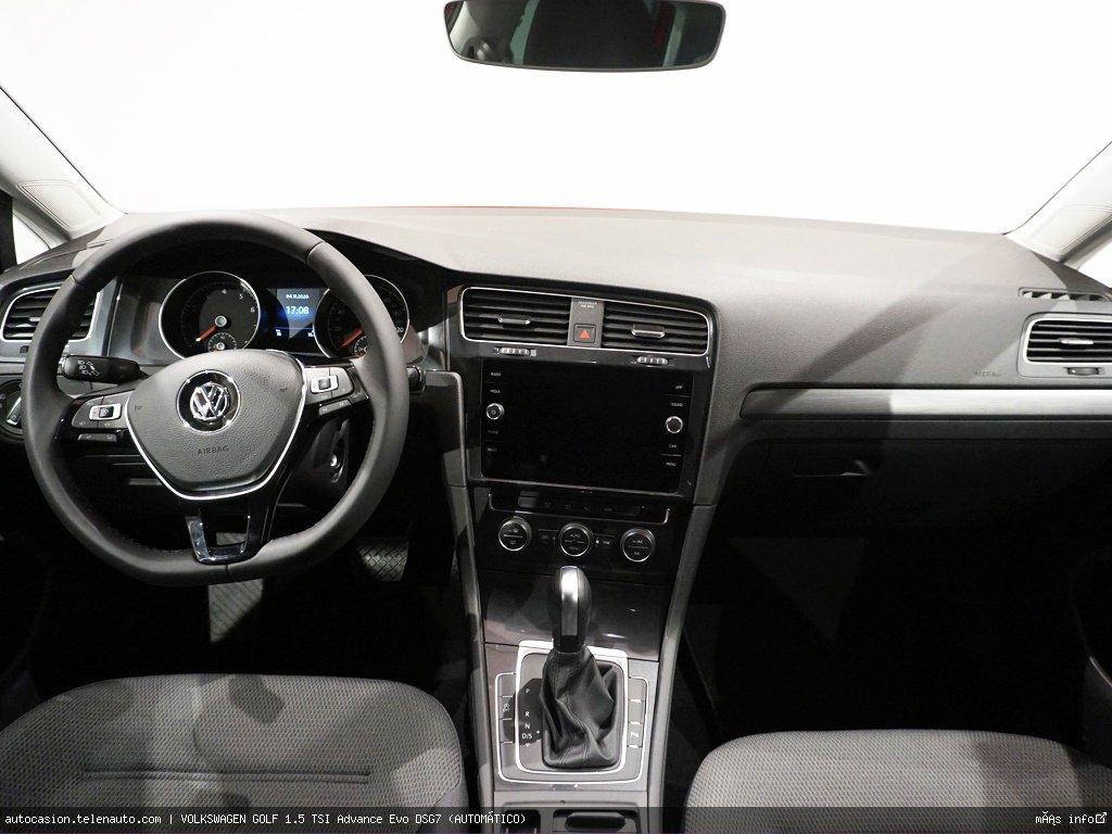 Volkswagen Golf 1.5 TSI Advance Evo DSG7 (AUTOMÁTICO) Gasolina kilometro 0 de segunda mano 5