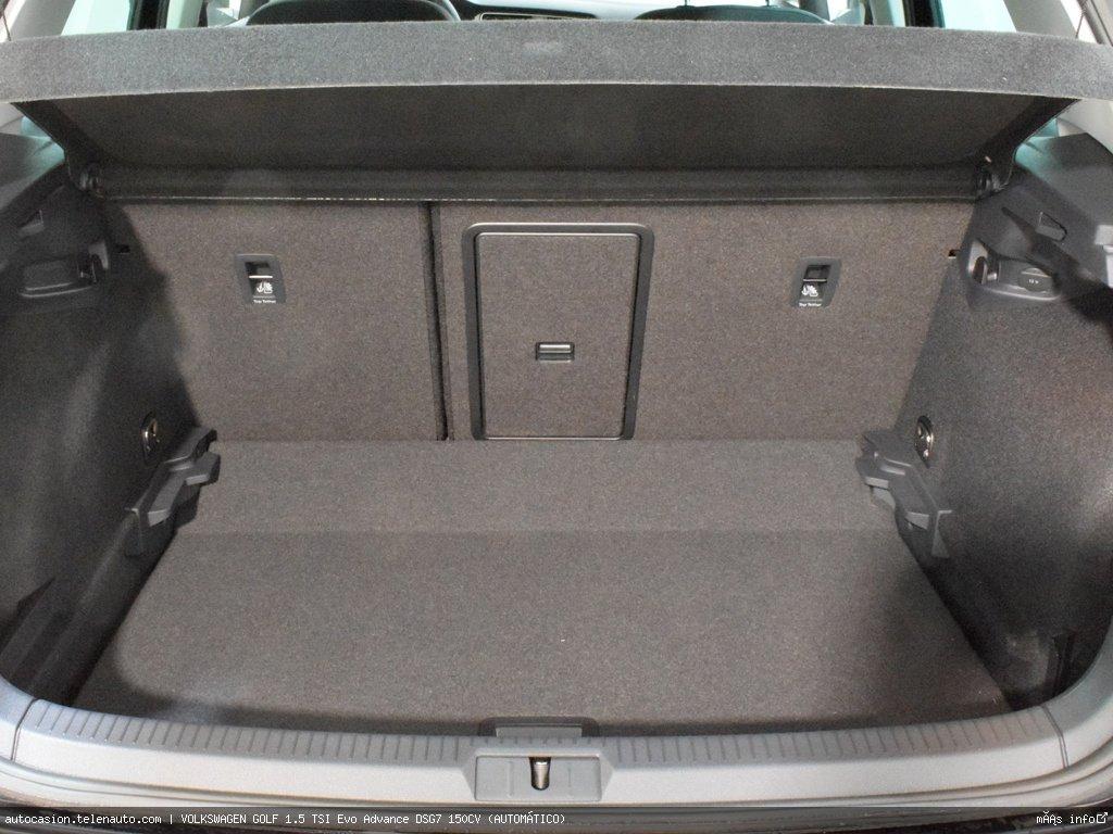Volkswagen Golf 1.5 TSI Evo Advance DSG7 150CV (AUTOMÁTICO)  Gasolina kilometro 0 de segunda mano 14