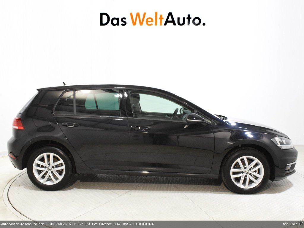 Volkswagen Golf 1.5 TSI Evo Advance DSG7 150CV (AUTOMÁTICO)  Gasolina kilometro 0 de segunda mano 3