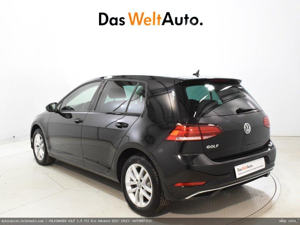 Volkswagen Golf 1.5 TSI Evo Advance DSG7 150CV (AUTOMÁTICO)  Gasolina kilometro 0 de segunda mano 4