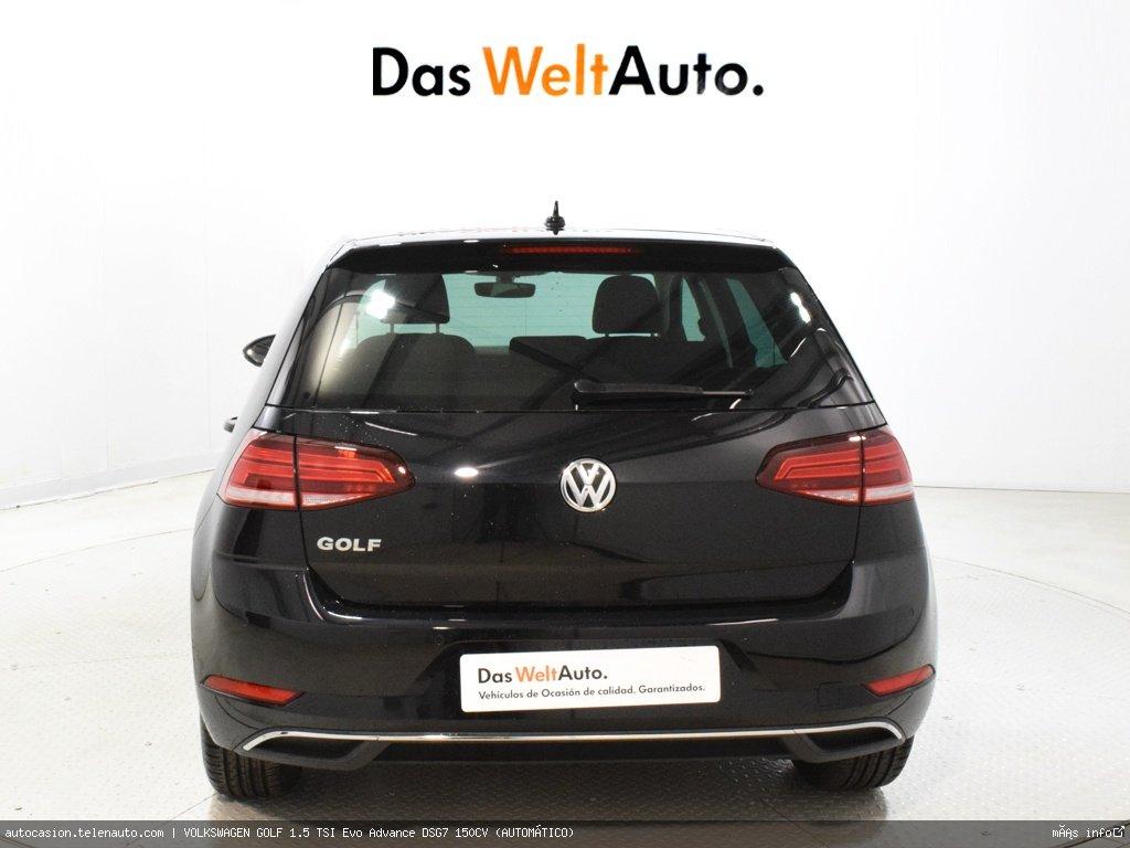 Volkswagen Golf 1.5 TSI Evo Advance DSG7 150CV (AUTOMÁTICO)  Gasolina kilometro 0 de segunda mano 5
