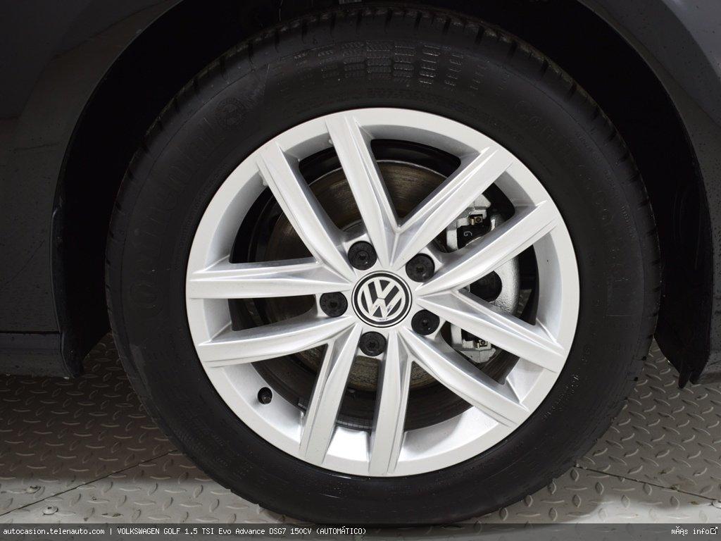 Volkswagen Golf 1.5 TSI Evo Advance DSG7 150CV (AUTOMÁTICO)  Gasolina kilometro 0 de segunda mano 6