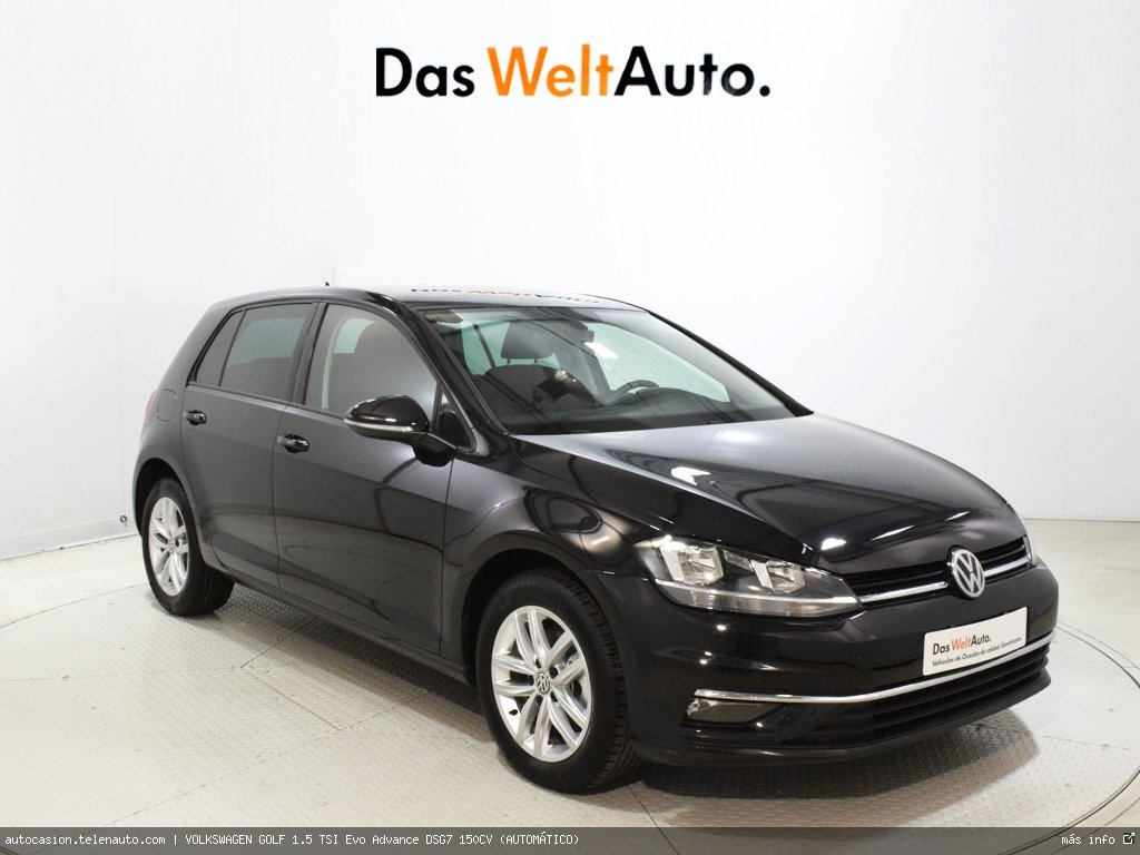 Volkswagen Golf 1.5 TSI Evo Advance DSG7 150CV (AUTOMÁTICO)  Gasolina kilometro 0 de segunda mano 1