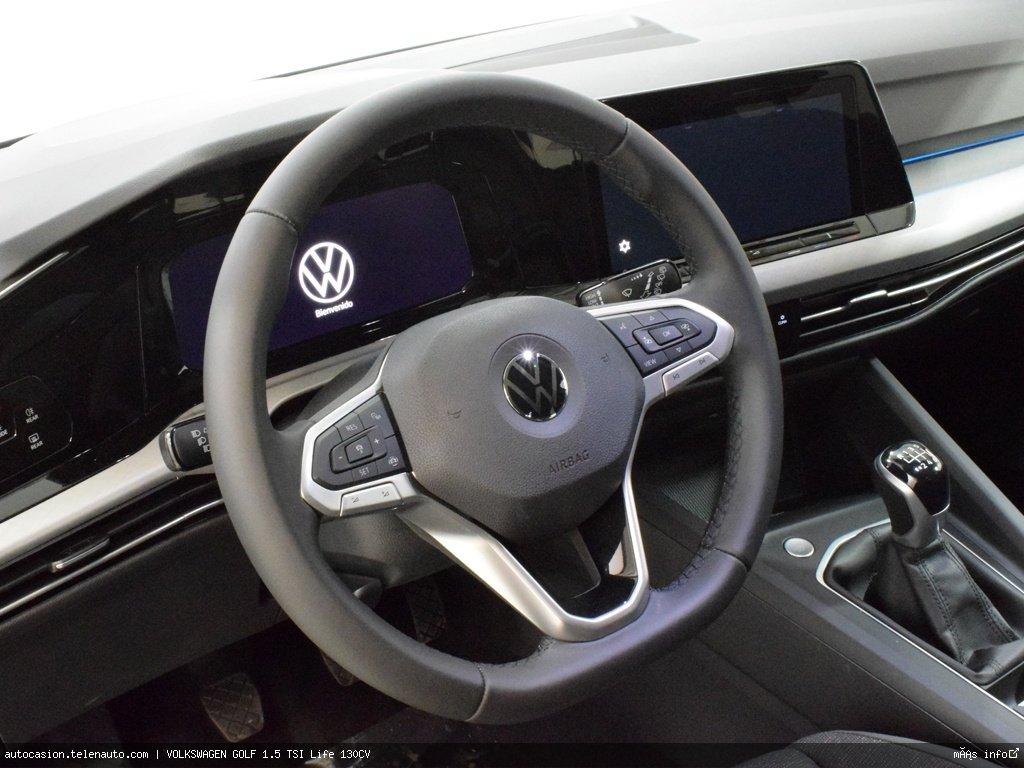 Volkswagen Golf 1.5 TSI Life 130CV Gasolina kilometro 0 de segunda mano 7