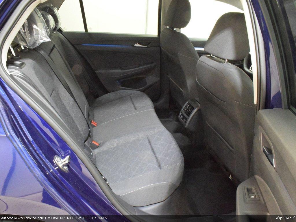 Volkswagen Golf 1.5 TSI Life 130CV Gasolina kilometro 0 de segunda mano 9