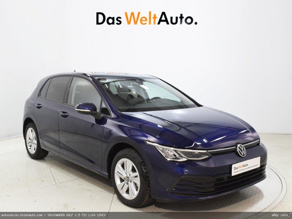 Volkswagen Golf 1.5 TSI Life 130CV Gasolina kilometro 0 de segunda mano 1
