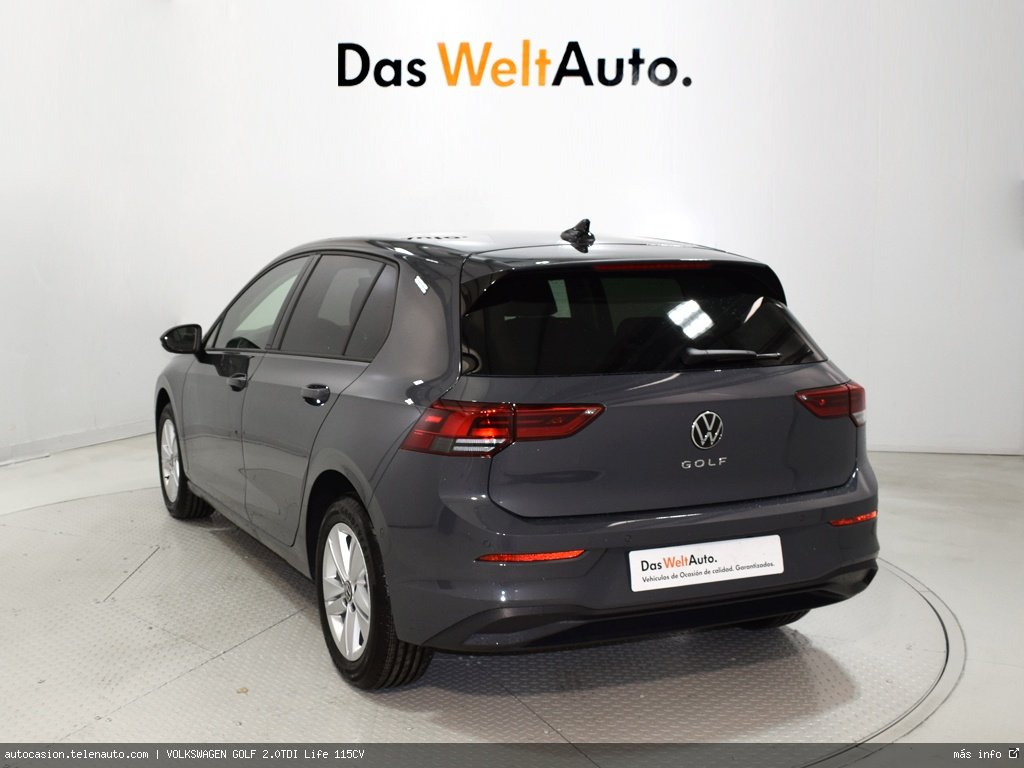VOLKSWAGEN GOLF 1.9TDI HIGHLINE 115CV - Foto 2