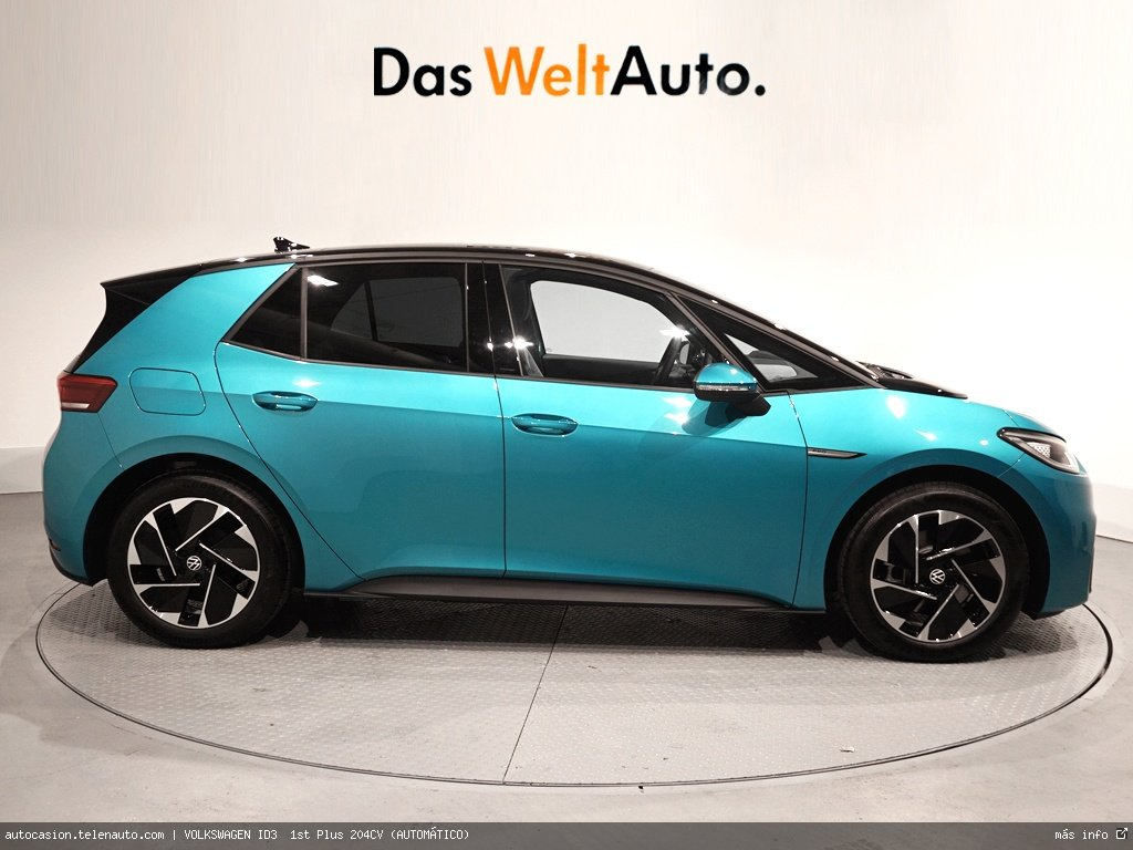 Volkswagen Id3  1st Plus 204CV (AUTOMÁTICO)  Electrico kilometro 0 de segunda mano 2