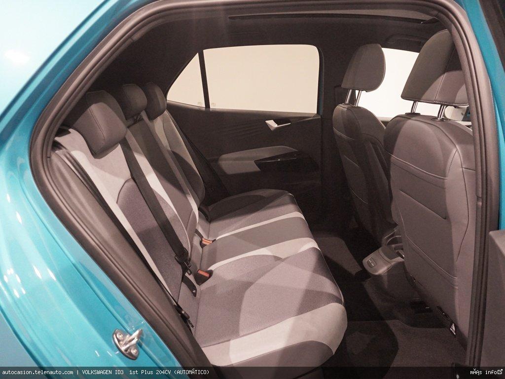 Volkswagen Id3  1st Plus 204CV (AUTOMÁTICO)  Electrico kilometro 0 de segunda mano 11