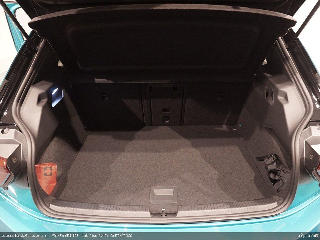 Volkswagen Id3  1st Plus 204CV (AUTOMÁTICO)  Electrico kilometro 0 de segunda mano 12