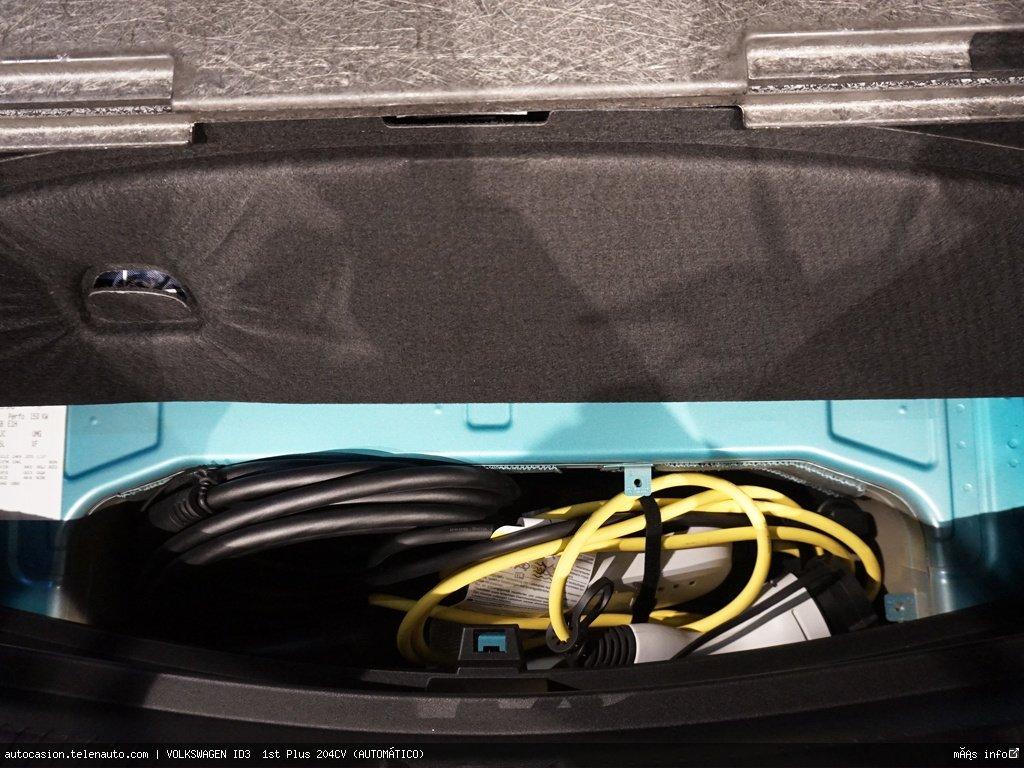 Volkswagen Id3  1st Plus 204CV (AUTOMÁTICO)  Electrico kilometro 0 de segunda mano 13