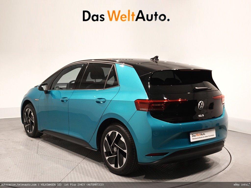 Volkswagen Id3  1st Plus 204CV (AUTOMÁTICO)  Electrico kilometro 0 de segunda mano 3