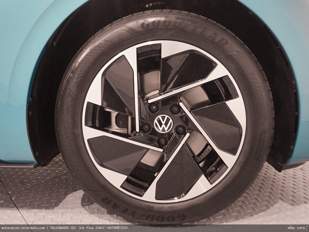 Volkswagen Id3  1st Plus 204CV (AUTOMÁTICO)  Electrico kilometro 0 de segunda mano 5