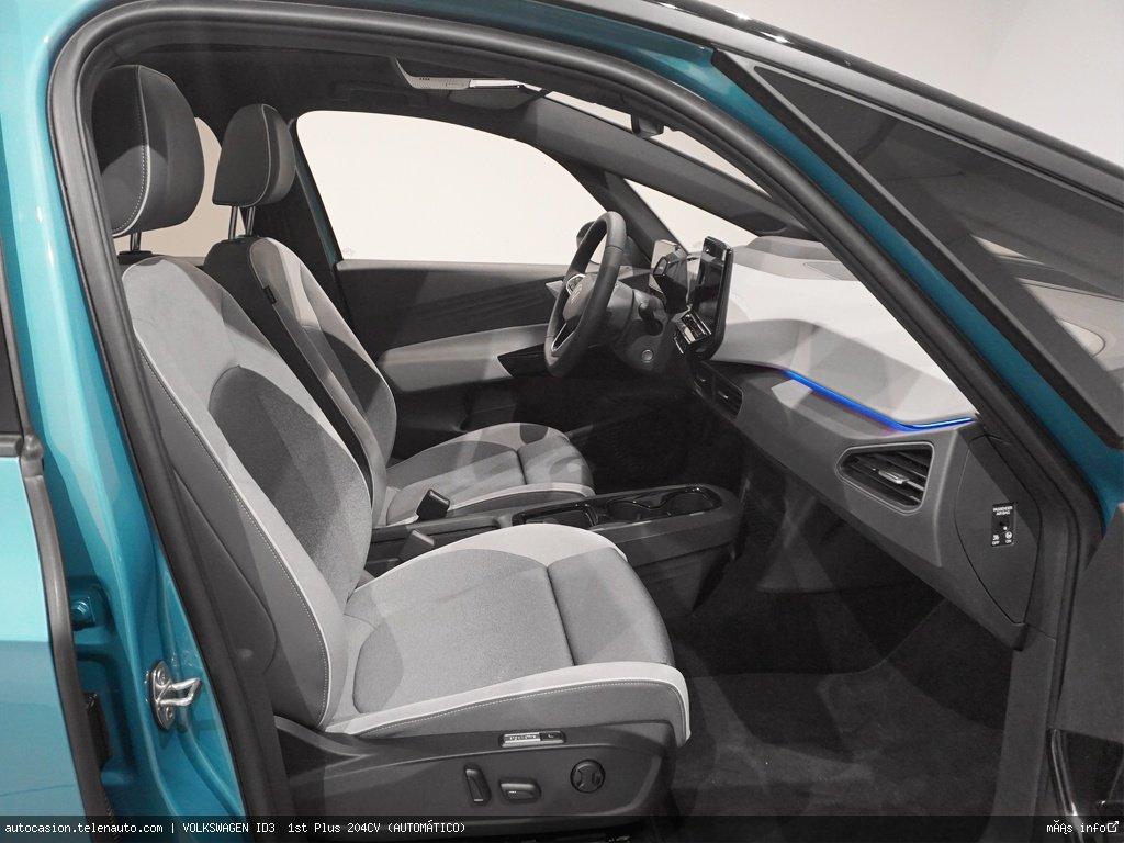 Volkswagen Id3  1st Plus 204CV (AUTOMÁTICO)  Electrico kilometro 0 de segunda mano 6