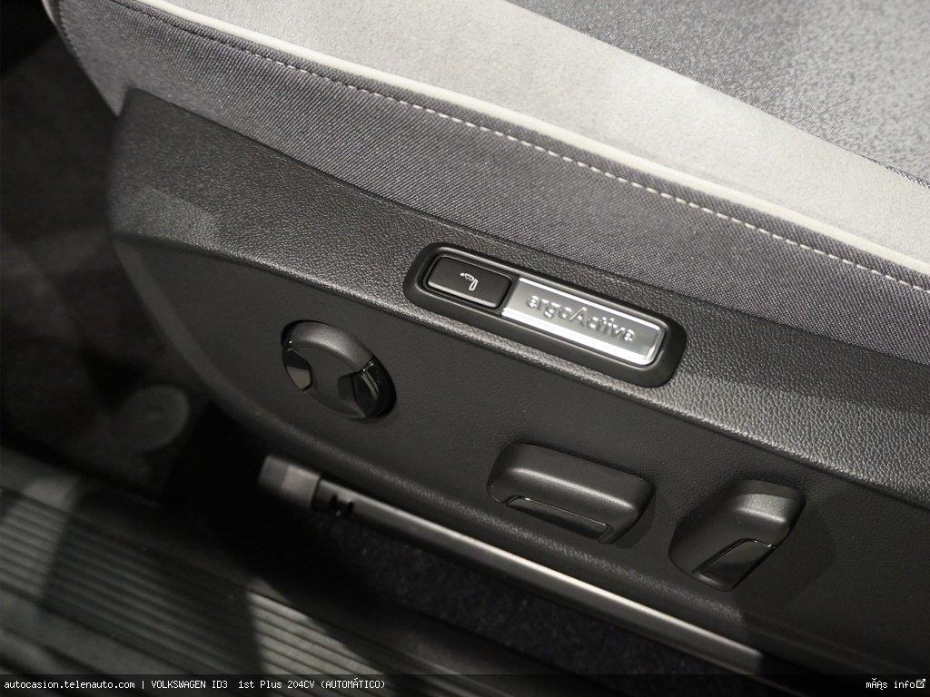 Volkswagen Id3  1st Plus 204CV (AUTOMÁTICO)  Electrico kilometro 0 de segunda mano 10