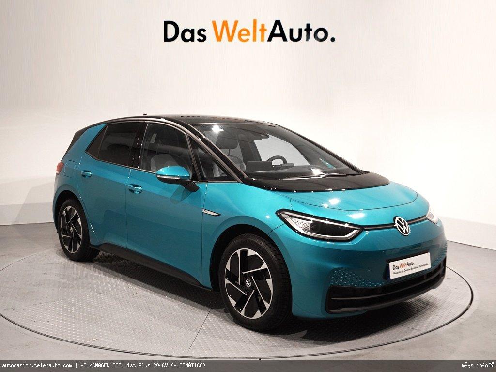 Volkswagen Id3  1st Plus 204CV (AUTOMÁTICO)  Electrico kilometro 0 de segunda mano 1