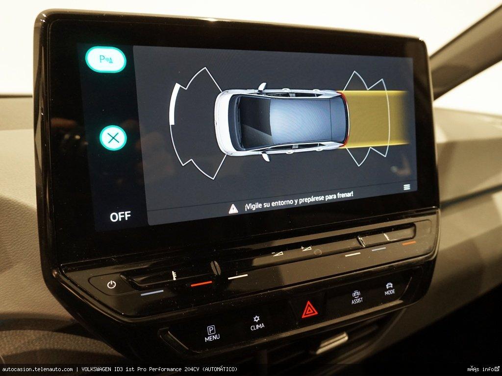 Volkswagen Id3 1st Plus 205CV (AUTOMÁTICO) Electrico kilometro 0 de ocasión 12