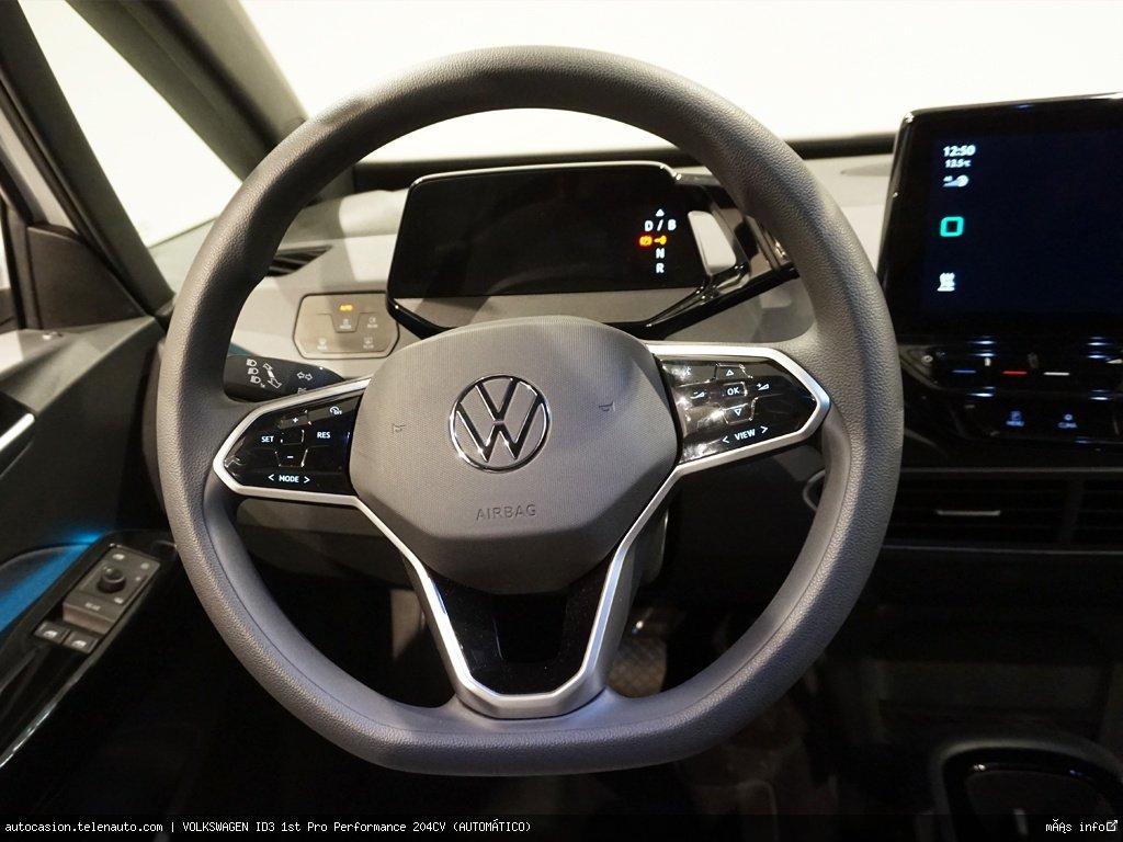 Volkswagen Id3 1st Plus 205CV (AUTOMÁTICO) Electrico kilometro 0 de ocasión 10