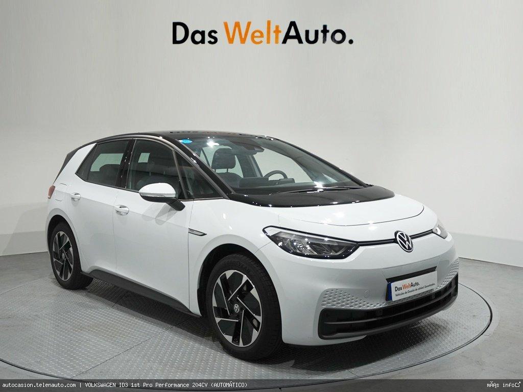 Volkswagen Id3 1st Plus 205CV (AUTOMÁTICO) Electrico kilometro 0 de ocasión 1