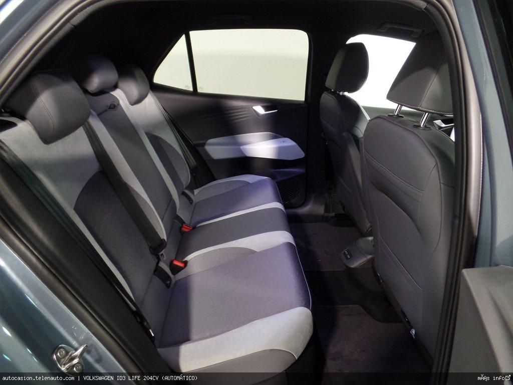 Volkswagen Id3 LIFE 204CV (AUTOMÁTICO) Electrico kilometro 0 de ocasión 9