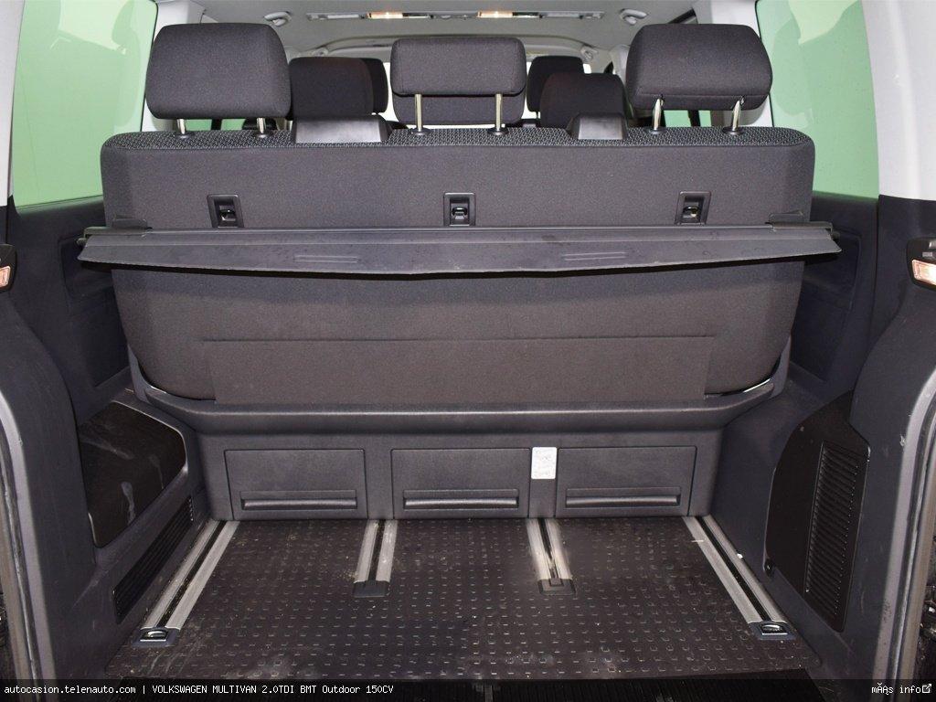 Volkswagen Multivan 2.0TDI BMT Outdoor 150CV Diesel kilometro 0 de segunda mano