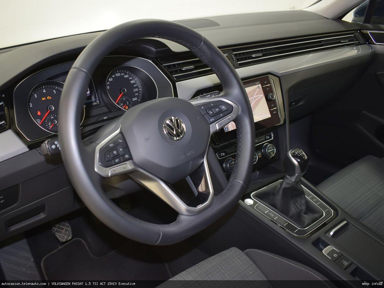 Volkswagen Passat 1.5 TSI ACT 150CV Executive Gasolina seminuevo de ocasión 8