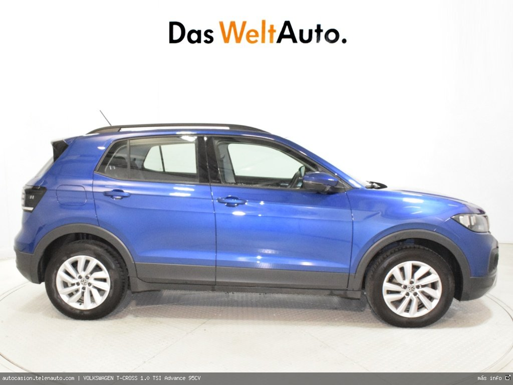 VOLKSWAGEN T-CROSS 1.0 TSI Advance 95CV - Foto 2