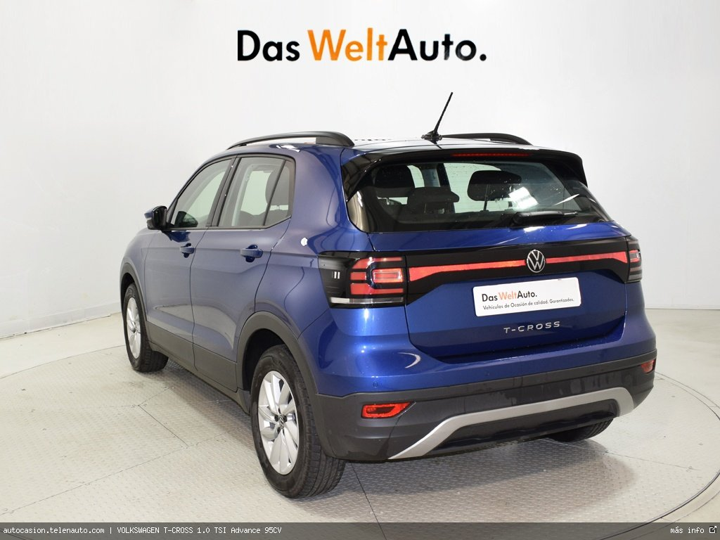 VOLKSWAGEN T-CROSS 1.0 TSI Advance 95CV - Foto 3
