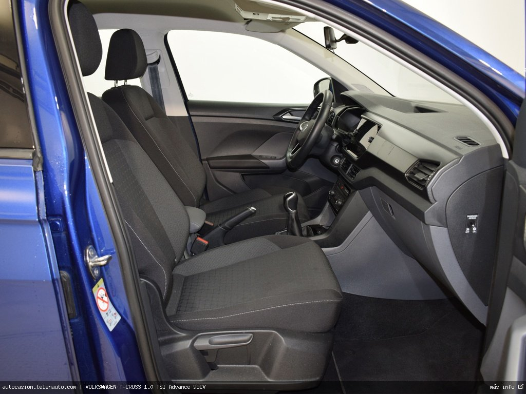 VOLKSWAGEN T-CROSS 1.0 TSI Advance 95CV - Foto 4