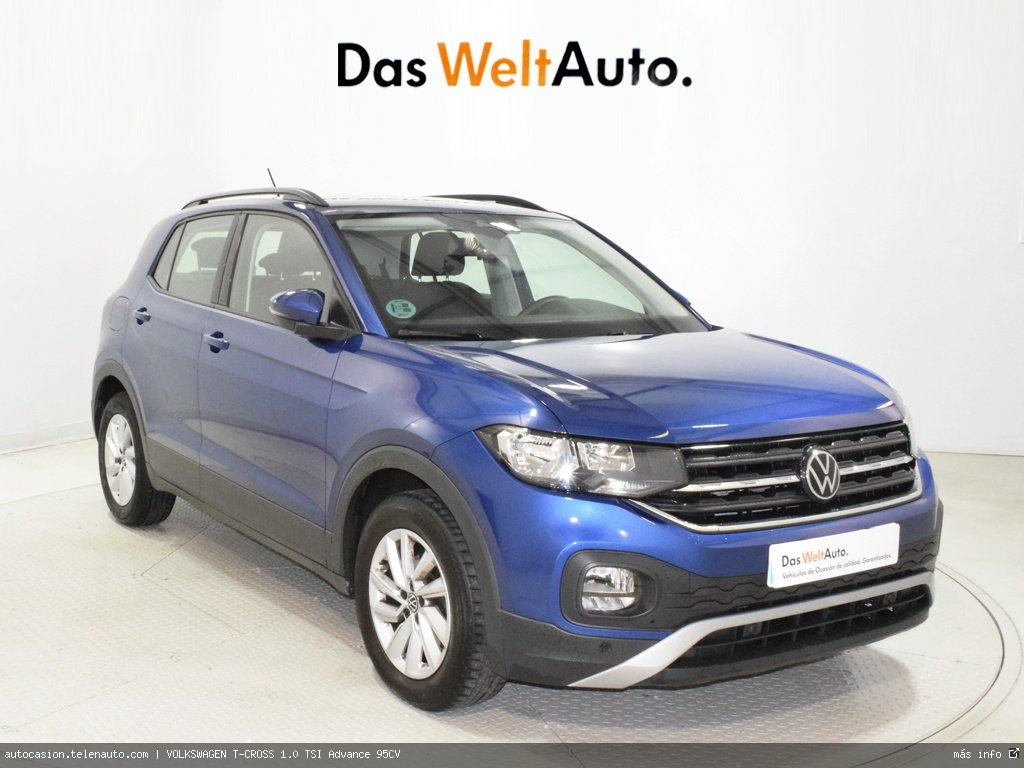 VOLKSWAGEN T-CROSS 1.0 TSI Advance 95CV - Foto 0