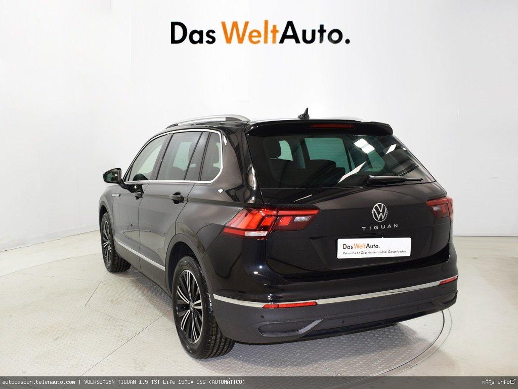 Volkswagen Tiguan 1.5 TSI Life 150CV DSG (AUTOMÁTICO) Gasolina kilometro 0 de segunda mano 3
