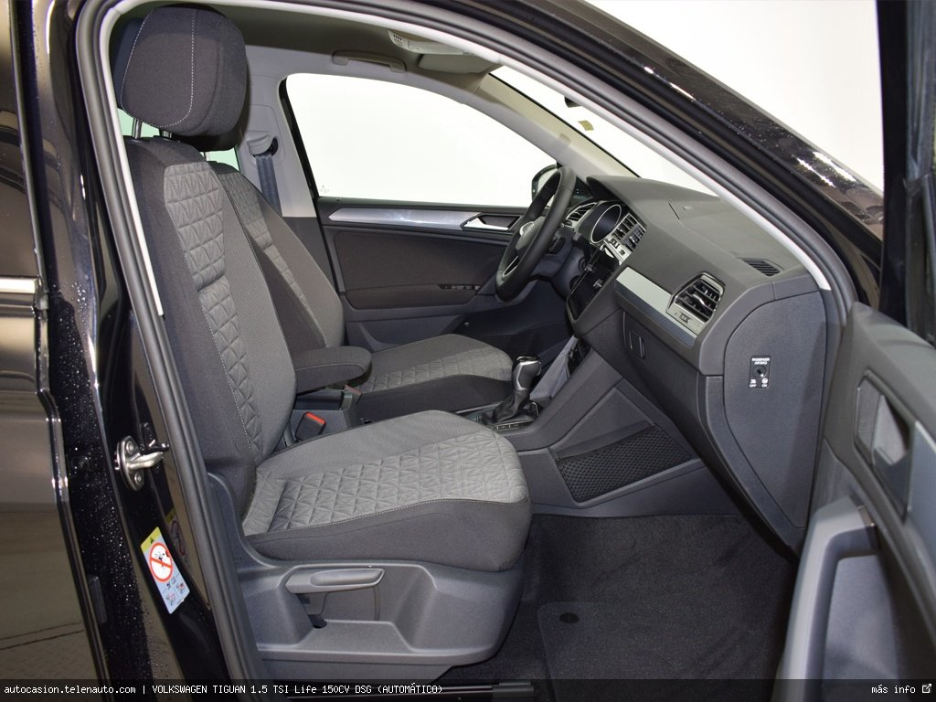Volkswagen Tiguan 1.5 TSI Life 150CV DSG (AUTOMÁTICO) Gasolina kilometro 0 de segunda mano 5